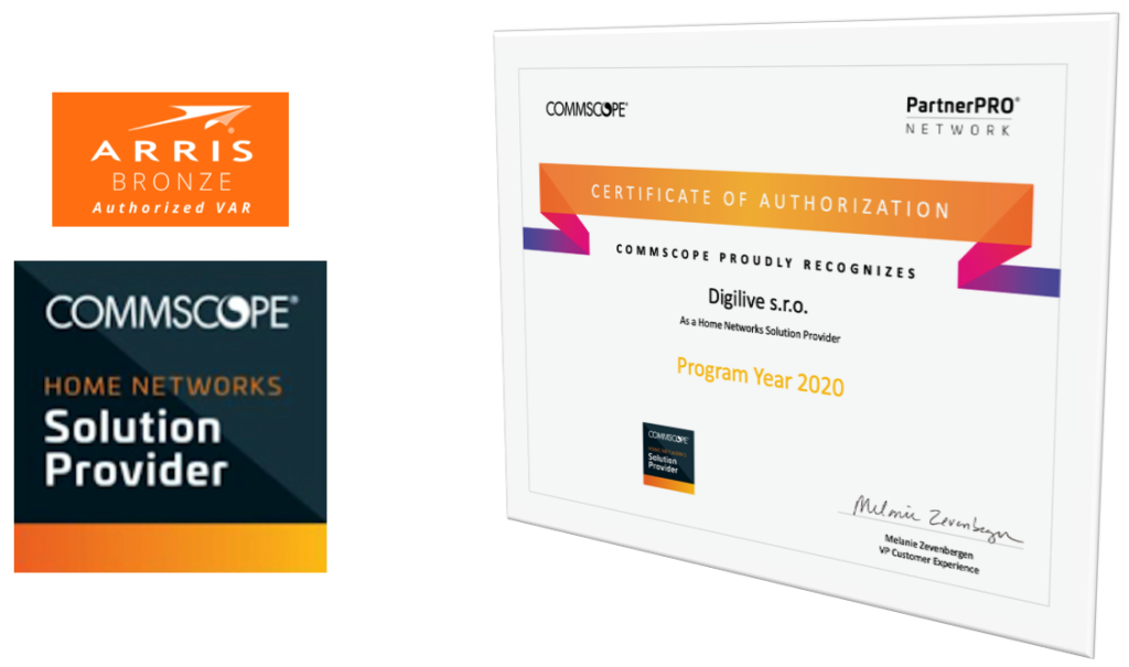Certificate Digilive